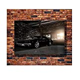 DPFRY Poster Und Drucke Hot Dodge Charger 1969 Fast and