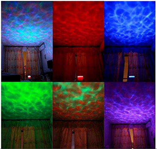 Lampes de Bureau Lampe de Table Océan Feux projecteur Night Light Incroyable Master Lampe LED coloré pour Enfants Chambre Maison & décoration