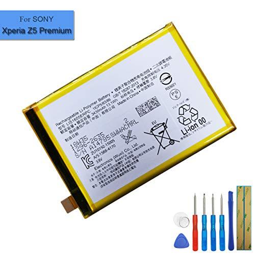Ion de polímero de Litio batería de Repuesto lis1605erpc Compatible con Sony Xperia Z5Premium e6853Z5Premium Dual e6883