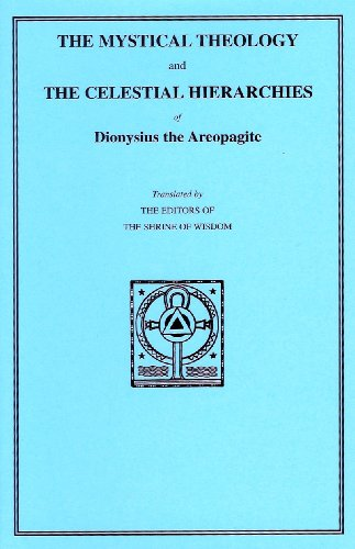 Dionysius the Areopagite: Mystical Theology and Celestial Hierarchies download ebooks PDF Books