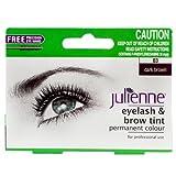 Julienne, Tinta permanente per ciglia/sopracciglia, Dark Brown 03, 15 ml