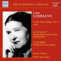 Schumann/Schubert: Lieder