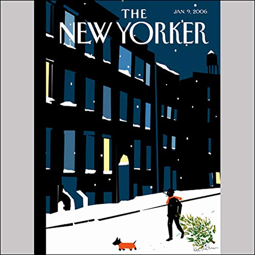 The New Yorker (Jan. 9, 2006) audiobook cover art