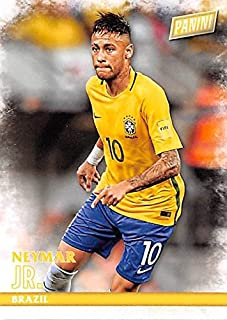 Neymar Jr trading card (Soccer Futbol Brazil) 2016 Panini Black Friday #38