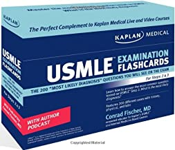 Kaplan Medical USMLE Examination Flashcards: The 200