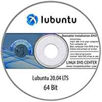 "Lubuntu 20.04 LTS ""Focal Fossa"" (64Bit) - Bootable Linux Installation DVD"