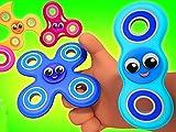 Fidget Spinner Finger Family