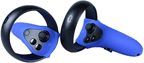 MASiKEN Controller Skin for Oculus Quest & Oculus Rift S Gel Shell Silicone Grip Covers Featuring Low-Profile Protective case