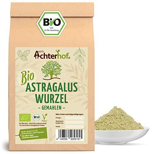 Astragalus Wurzel Pulver Bio | 250g | Tragant-Wurzel-Pulver | 100% naturrein ohne Zusätze | Tragacantha Membranaceus Wurzelpulver |
