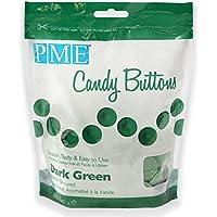 Botones de Caramelo en Verde Oscuro PME 340 g
