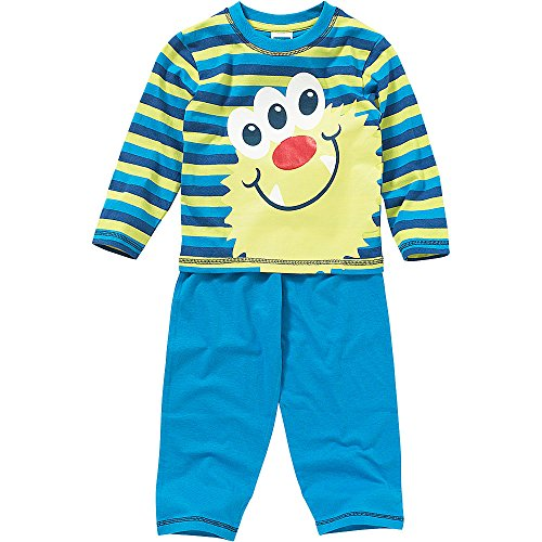Canción Infantil Niños Cute Monster Face algodón Pijama