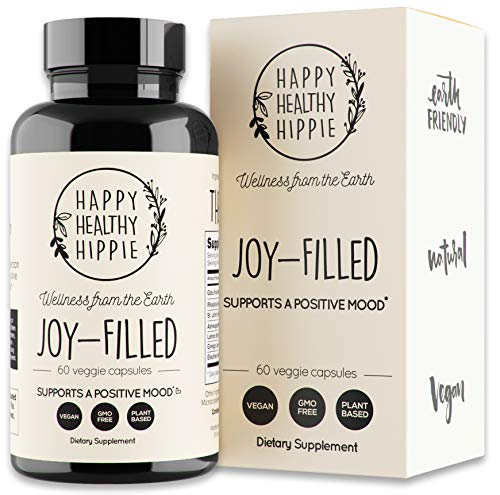 Joy-Filled 100% Plant-Based Supplement for Anxiety & Depression