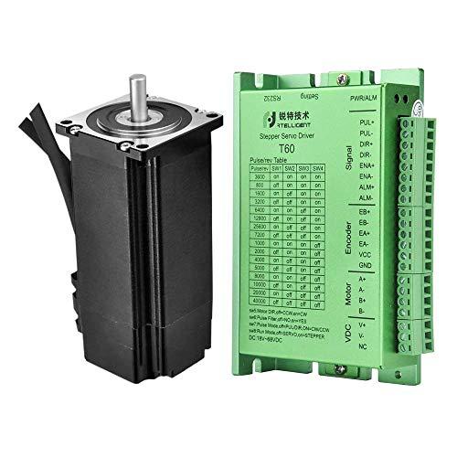 RTELLIGENT Schrittmotor Treiber mit Schrittmotor Closed-Loop Nema 24 Arduino 4 NM 5A High Torque Hochleistung 24-50 V Gleichspannung mit 4000PPR Inkrementalgeber