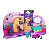 Polly Pocket FRY98 - Und… Klein Zimmer Spielset mit Polly Puppe und Zubehör, Mädchen Spielzeug...