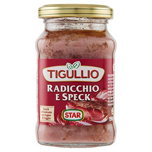 Tigullio Pesto Specialità Radicchio e Speck, 190g