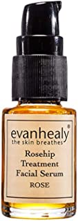 evanhealy Rosehip Facial Serum - Moisturizing & Plumping - All-Natural Hydrosols & Essential Oils - Damaged & Sensitive Skin