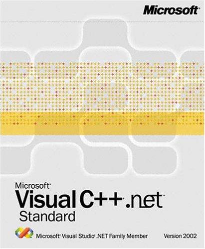 Visual c++.net 2002 standard licence education
