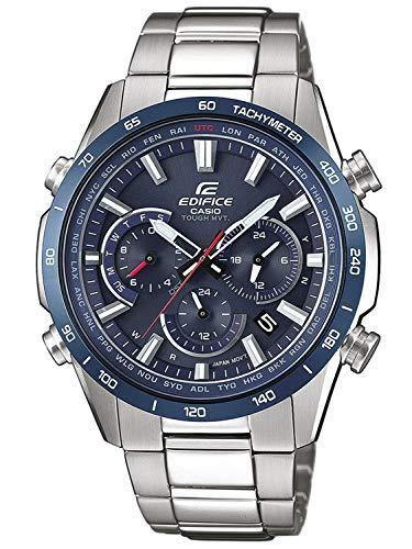 Casio Reloj Cronógrafo para Hombre de Cuarzo con Correa en Acero Inoxidable EQW-T650DB-2AER