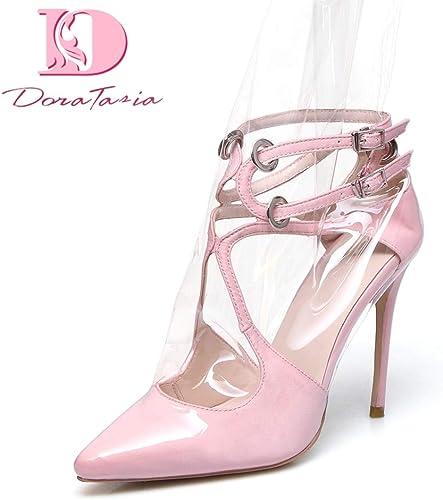 HOESCZS 2018 Marque Design Soie PVC Femmes Femmes Chaussures Femme Talons Hauts Bottes D'été Sandales De Soirée Femme Grande Taille 34-44