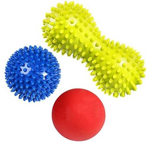 Preisvergleich Produktbild RIGHTWELL Massageball für Plantarfasziitis - Fußmassage Balls Schmerzlinderung für Haken & Fußgewölbe, Stressreduzierung und Entspannung durch Triggerpunkt-Therapie