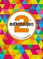 Mathématiques Barbazo 2de - Livre élève format compact - éd. 2014 d'Eric Barbazo
