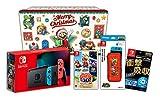 【Amazon.co.jp限定】<ニンテンドースイッチ ホリデーギフトセット>スーパーマリオ 3Dコレクション+Nintendo Switch 本体 ネオンブルー/ネオンレッド+アクセサリーセット+おまけ付き