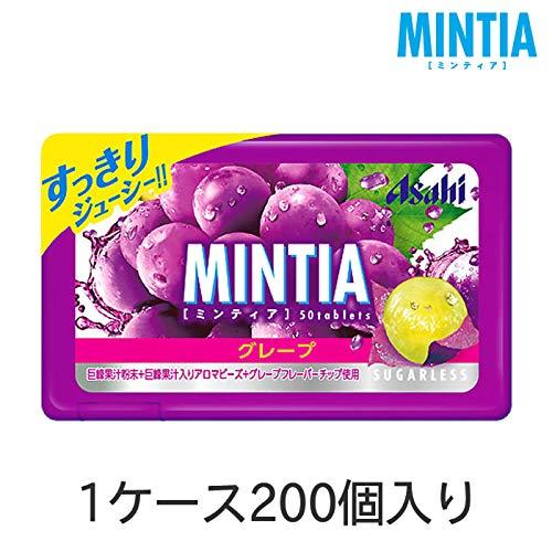 アサヒグループ食品 ミンティア グレープ 200個(1ケース)
