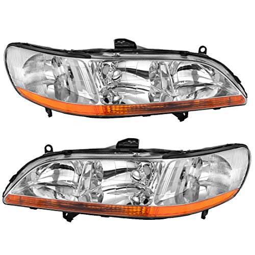01 honda accord coupe headlights - 2