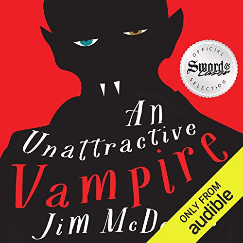 An Unattractive Vampire audiobook cover art