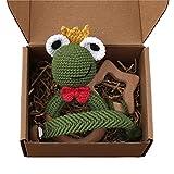 Wenyounge 3 unids/Set Chupete de bebé Clip de Cadena Crochet Rana sonajero Beech mordedor Chupete Molar Comfort Comfort Toy mordedor de Madera