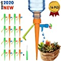 ?2020 New? Plant Self Watering Spikes,16 Pcs Automatic Irrigation Equipment Self Watering Drip Devices with Slow Release Control Valve Switch, Suitable for Outdoor Indoor Plants from DYC
