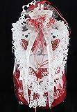 selbstgemachtes Geschenk zur Hochzeit Hochzeitsgeschenk als Handtuchtorte Handtuchfigur