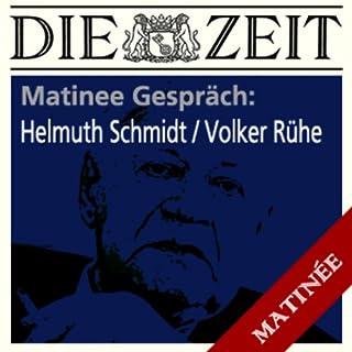 Helmut Schmidt - Volker Rühe (ZEIT Matinee Gespräch) Titelbild