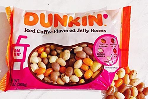 LIMITED EDITION Dunkin' Iced Coffee Flavored Jelly Beans, 1 bag, 13 oz