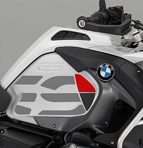 KIT ADESIVI GS PER LATERALI BMW R 1200 GS ADV 2014-2018 AD-GS-BIG (Light Red)