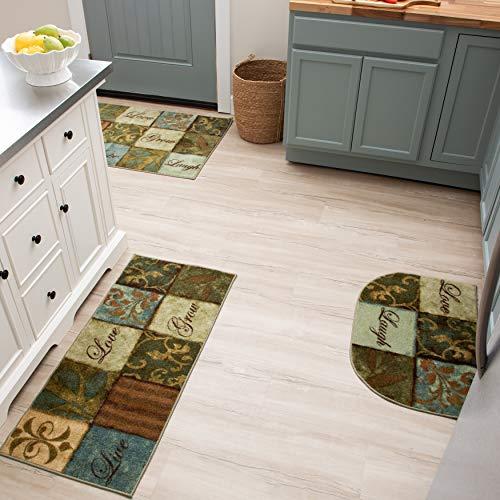 Mohawk Home Multicolor Les Fleurs La Terre Area Rug (3 PC Set 20