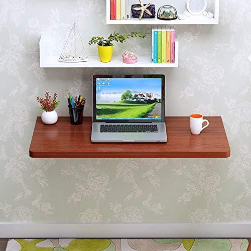XXFZDCP Mesa de Banco de Trabajo Mesa montada en la Pared Multifuncional Plegable hacia Abajo Montado en la Pared Computadora portátil de Madera Compartimentos de Escritorio para el hogar, la Oficina