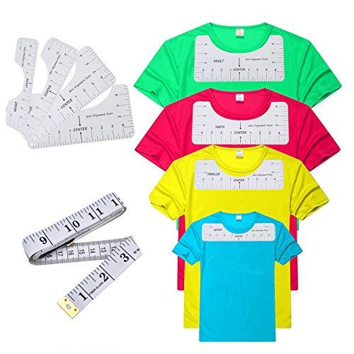 T-셔츠 규칙 티셔츠를 정렬 도구 T-셔츠 맞춤 가이드,성인이 청소년 유아 유아(4)
