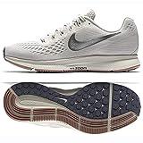Nike Wmns Air Zoom Pegasus 34, Zapatillas de Running para Mujer, Multicolor (Light Bone/Chrome/Pale Grey/Sail 004), 38 EU