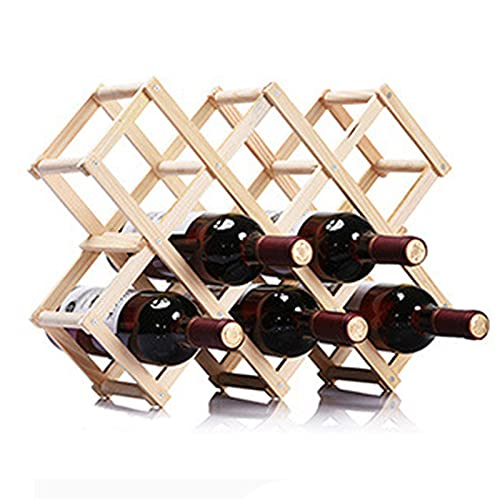 vinoteca madera pared de la marca DZLJFR