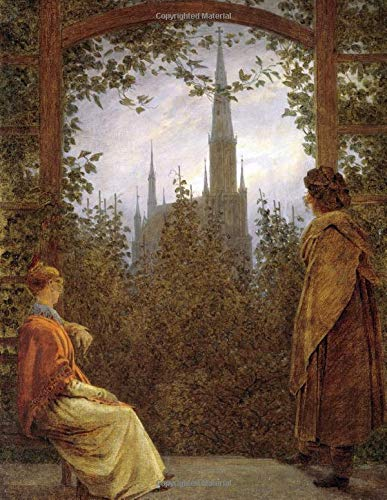 Caspar David Friedrich Sketchbook #3: Cool Artist Gifts - Gartenlaube in Greifswald Caspar David Friedrich Sketchbooks For Artists Adults and Kids to Draw in 8.5x11