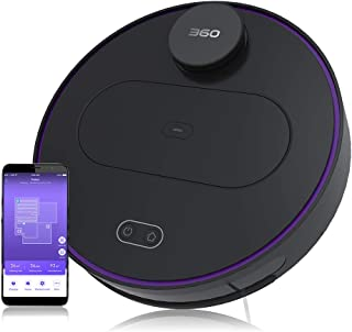 360 Robot Vacuum and Mop Cleaner, Works with Alexa, Intelligent Cleaning with 1800Pa Super Power Suction, Laser Navigating...
