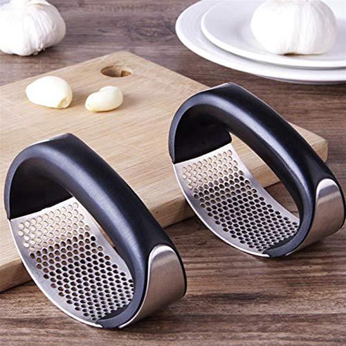 Küchenutensilien Edelstahlgriff Hitzebeständigkeit Edelstahl Küchen Box Extruder Hand Ingwer Knoblauch Scheibe Grinding Werkzeug Küche Standard-Werkzeug Küchenutensilien Werkzeuge Kochgeschirr Kochgem