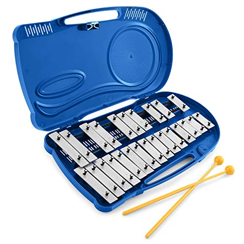Eastar Xylophone for Kids Glockenspiel Xylophone for Adults for Toddlers Musical Instrument Percussion Instrument, 25 Notes