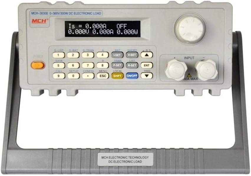 Preciso Medidor de carga electrónico 360V / 30A / 300W Probador de carga electrónico programable de CC Carga de CC controlada por programa MCH-3630B durable
