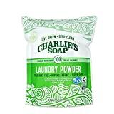 Charlie's Soap Laundry Powder (100 Loads, 1 Pack) Fragrance Free Hypoallergenic Deep Cleaning Laundry Powder –...