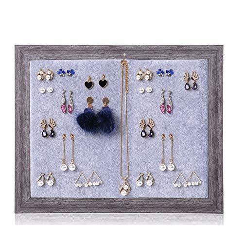 GonFan Perfect verjaardagscadeaus voor vrouwen meisjes creatieve fotolijst oorbellen plank sieraden rekken oorbellen opslag plank display stand sieraden
