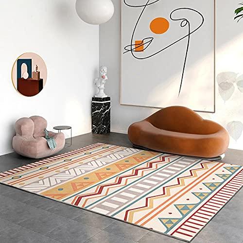 Alfombra moderna para salón de 120 x 160 cm para dormitorio, alfombra...