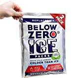 Below Zero Colder Than Ice Packs - Add Water & Freeze - 2 Pack 10x14in...