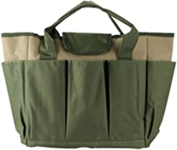 DONGXIAN Fit voor tuin Tool Bag Oxford Stof Garden Bucket Bag Fit voor Tuinieren Tool Kit Tools Exclusief (Color : Army gr...